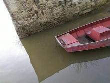 Barque en bord de Loire
